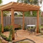 Wood Pergola Design Houston TX