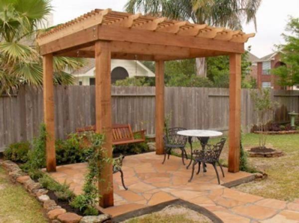 Wood Pergola Trellis Lattice Panel Design Installation