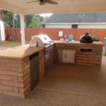 Outdoor Stone Kitchens Houston TX