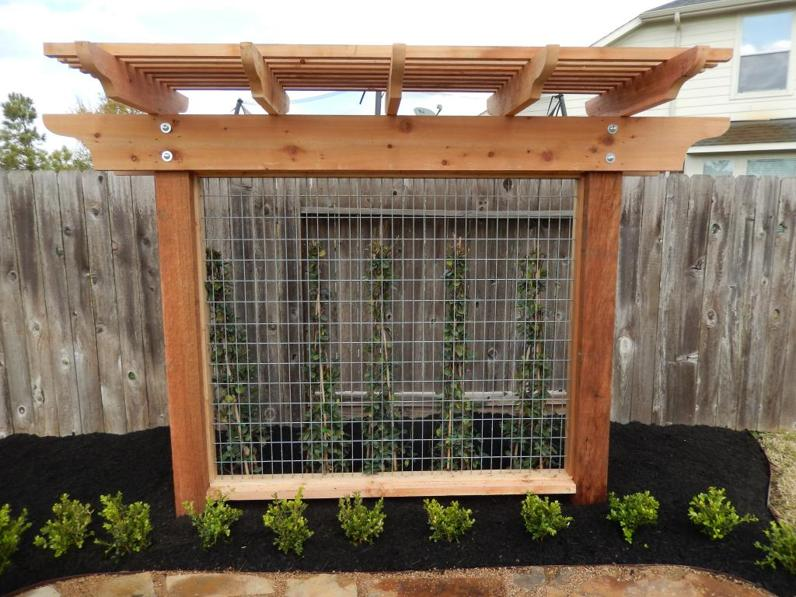 Wood Pergola Trellis Amp Lattice Panel Design