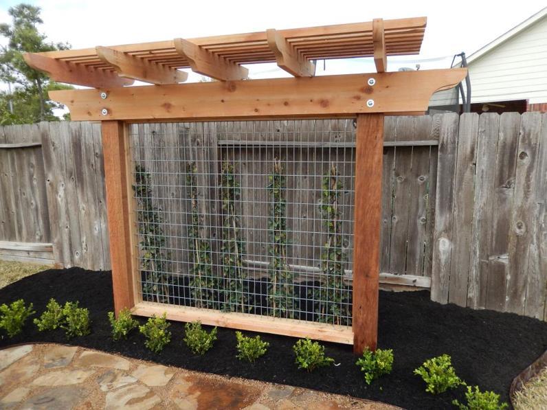 Wood Pergola Trellis Amp Lattice Panel Design