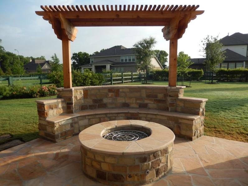 Katy Texas Outdoor Firepits & Outdoor Stone Fireplaces ...