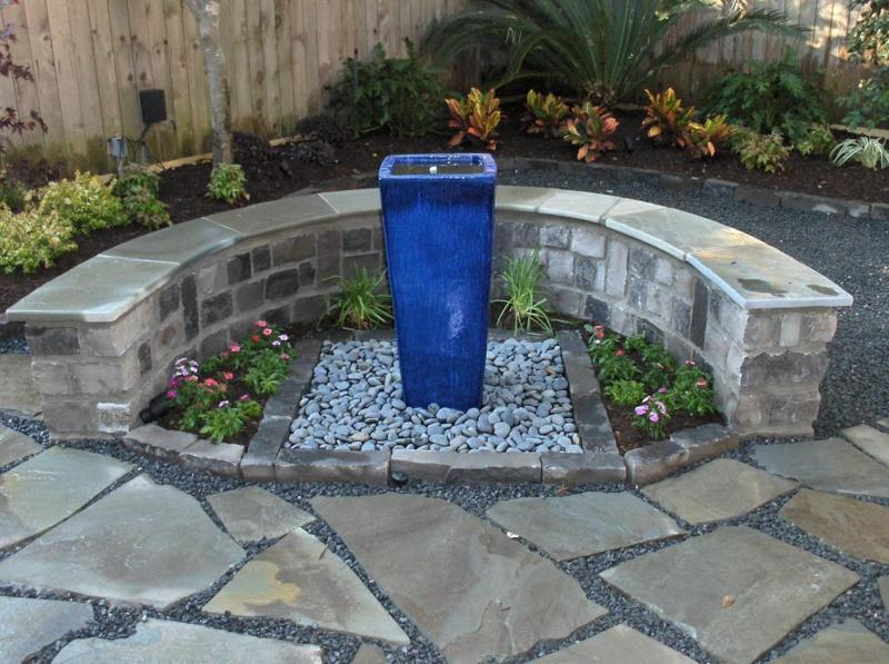 Disearing Water Feature