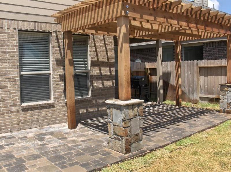 Porch Columns Benches Amp Stone Sitting Walls Houston Tx