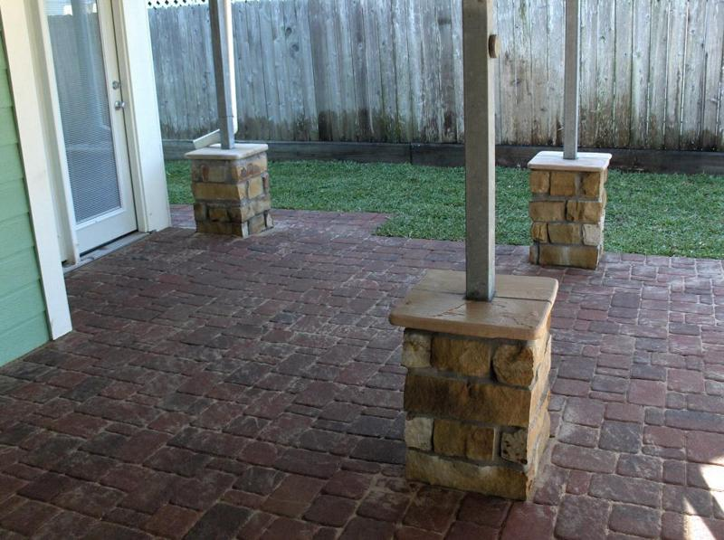 Patio Seating Wall Height