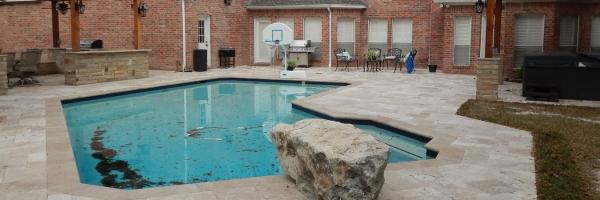 Patio Backyard Landscaping Contractor Services Houston Tx